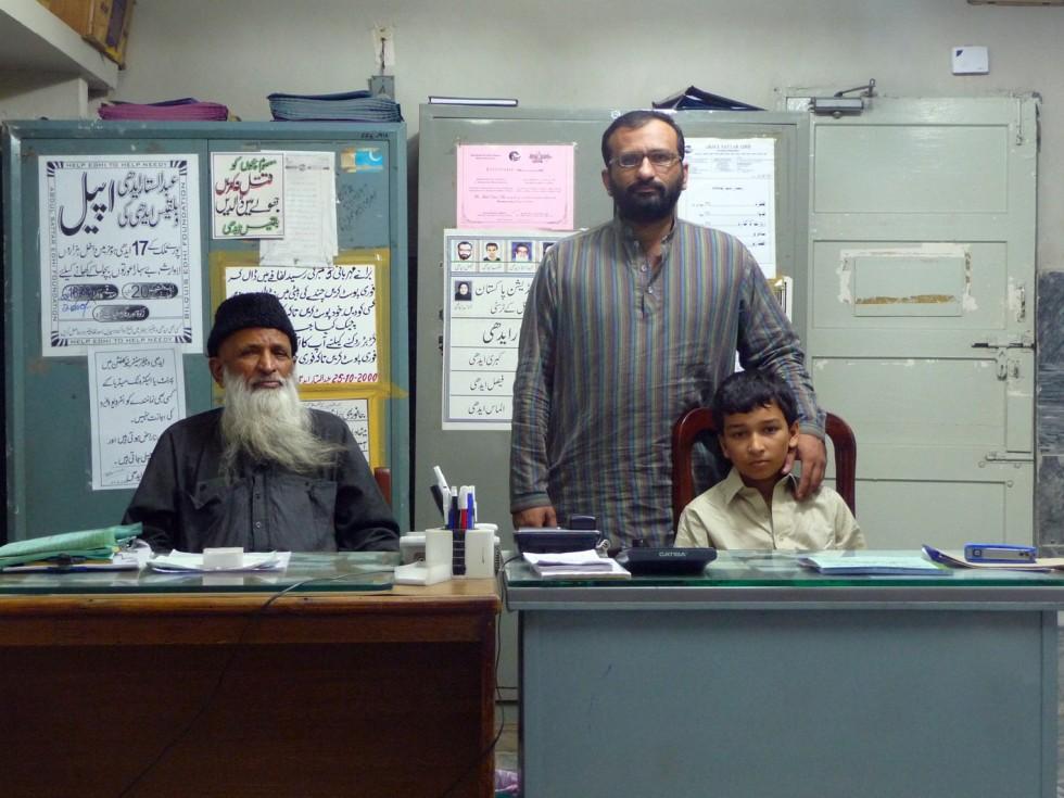 Faisal Edhi y Abdul Sattar Edhi Junior
