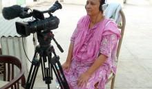 Bilquis Edhi watching her interview